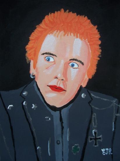 Johnny Rotten par EAMONREILLY